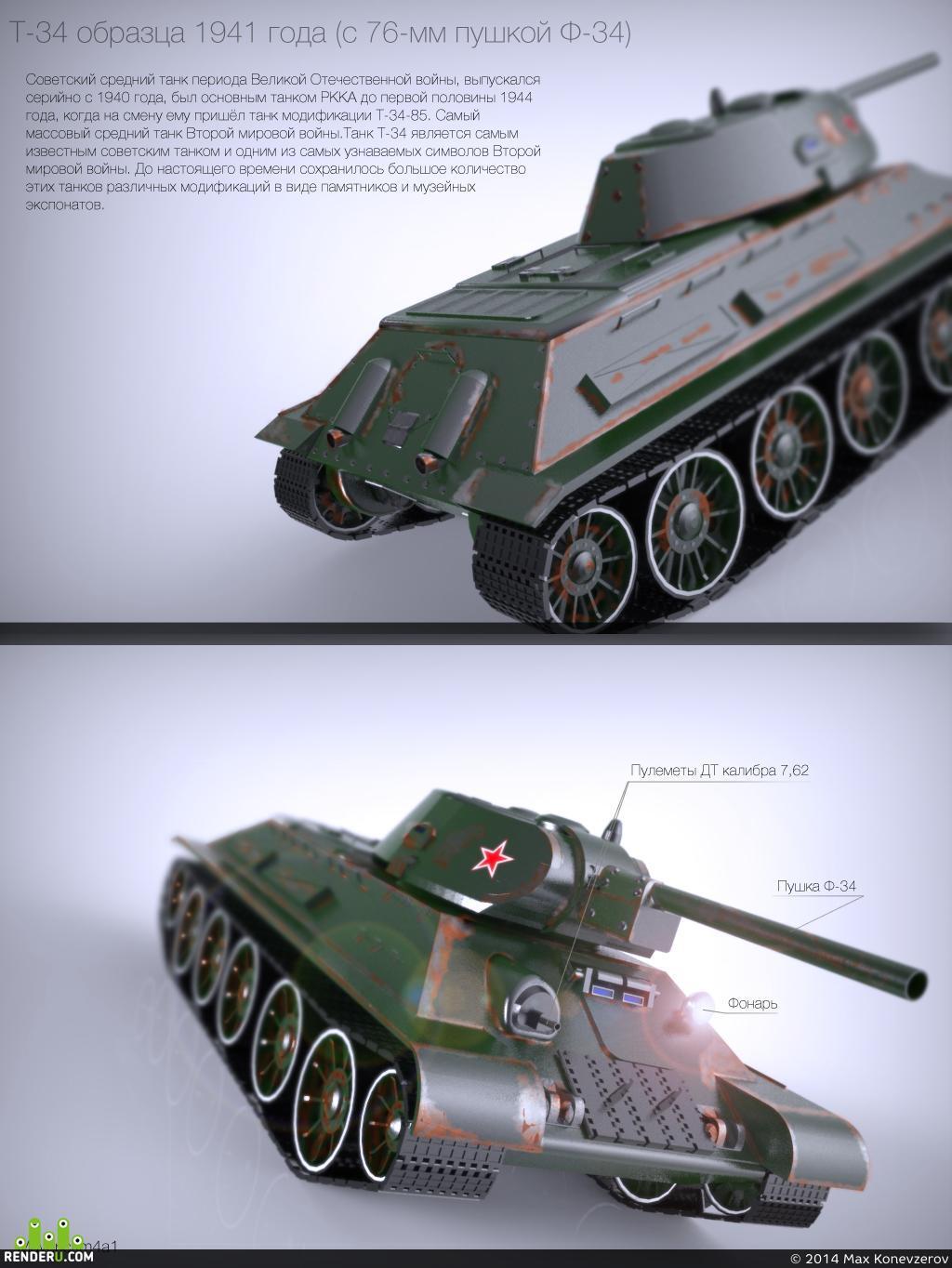 preview Советский средний танк T-34