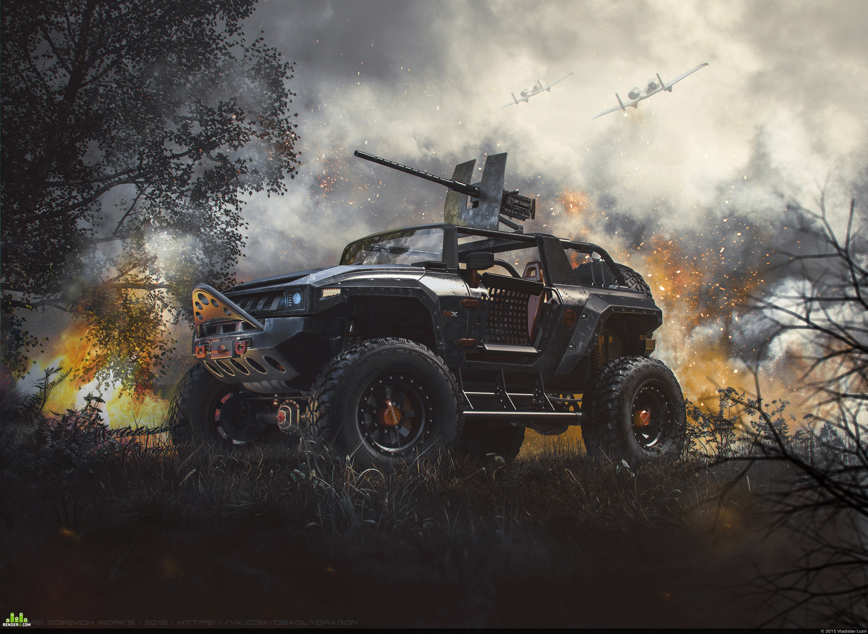 preview Hummer HX тачанка