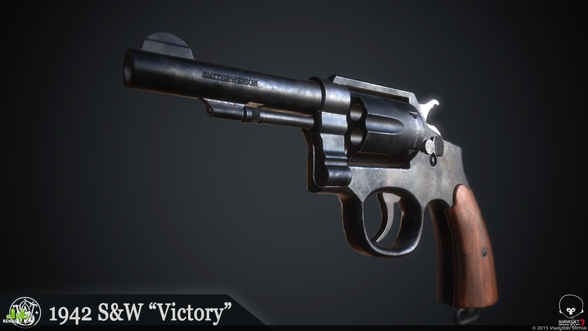 """preview 1942 Smith&Wesson """"Victory"""""""