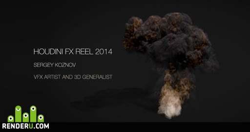 preview HOUDINI FX REEL 2014