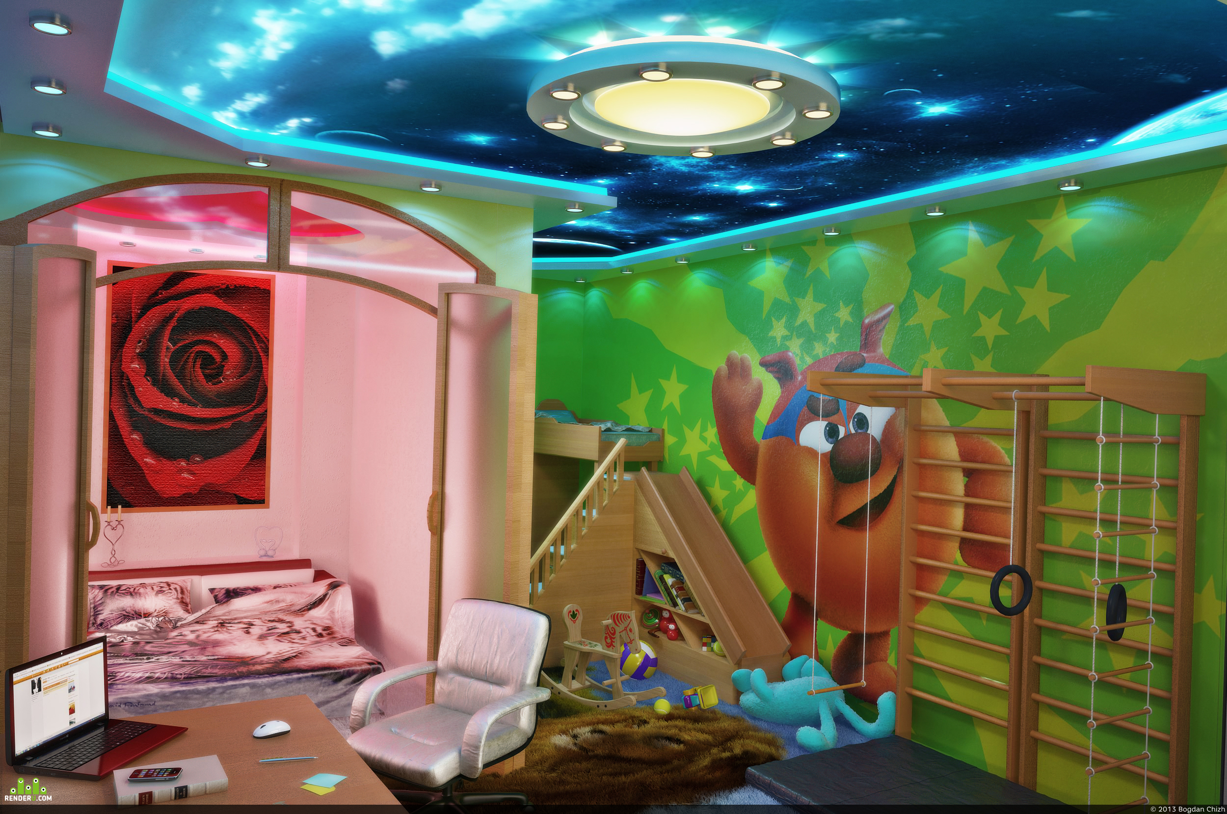 preview Комната для всей семьи =)