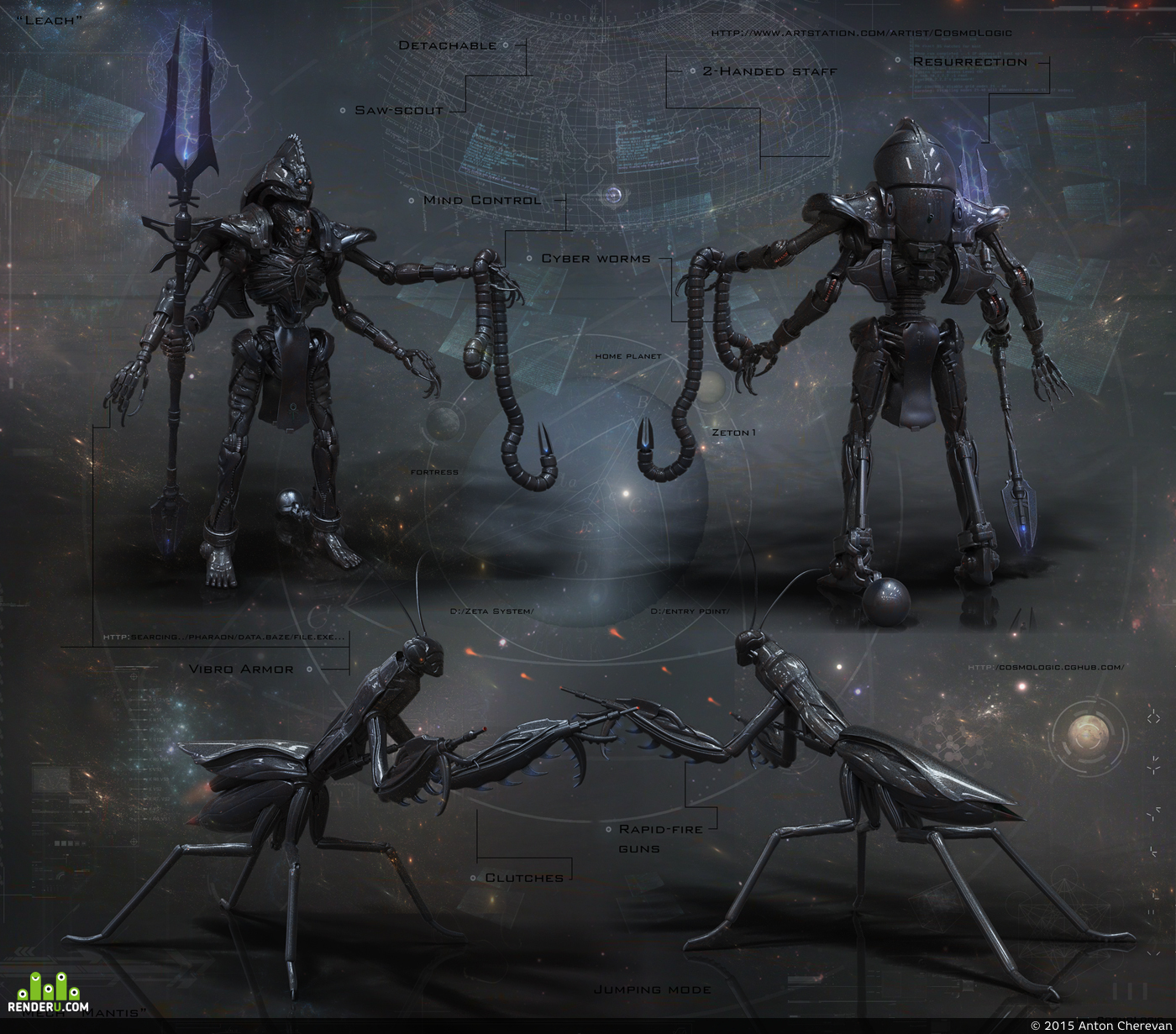preview Dark Lich & Mantis