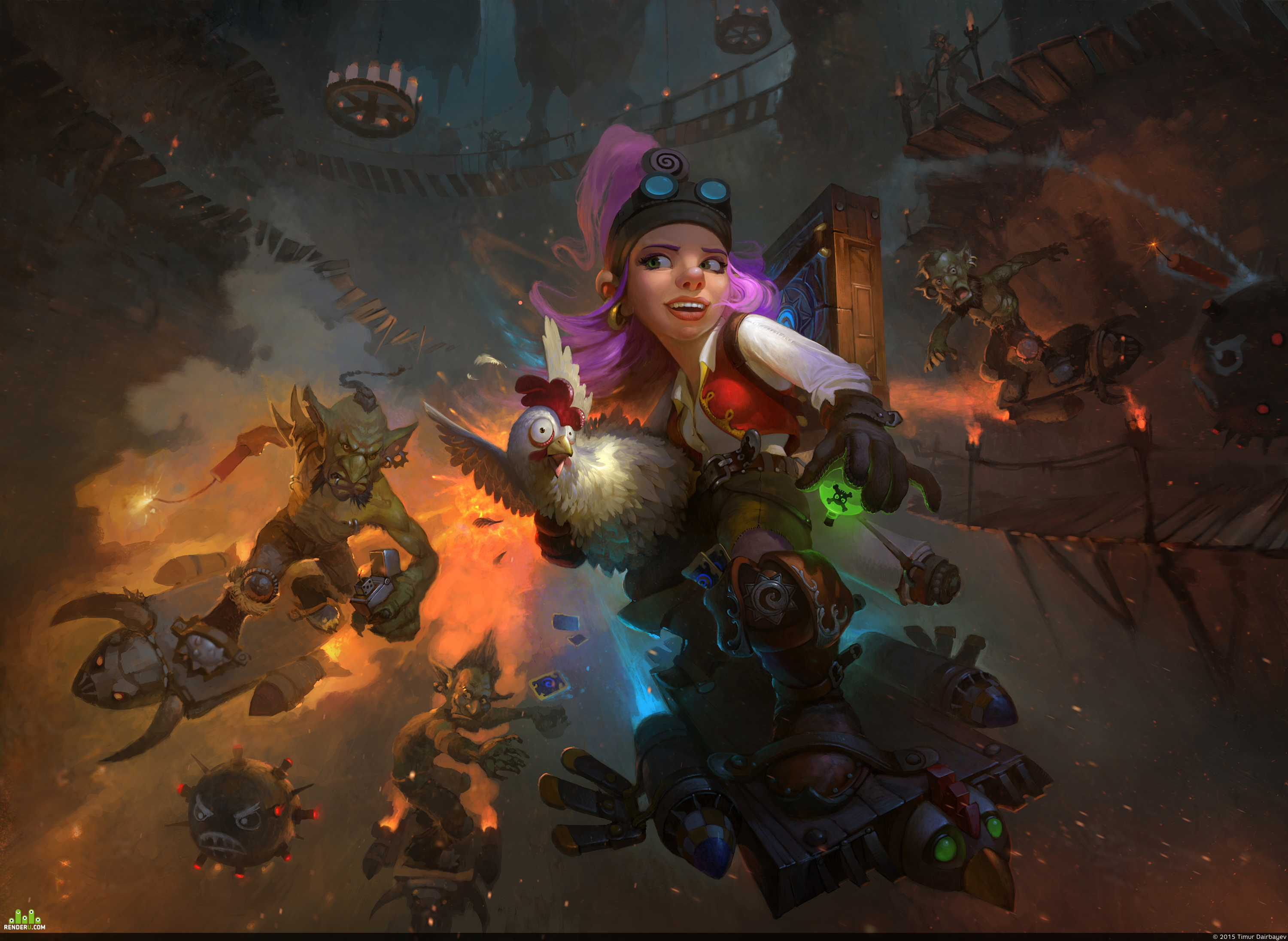 preview Goblin vs Gnomes: Extreme racing
