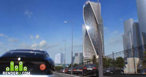 preview architectural animation Evolution tower