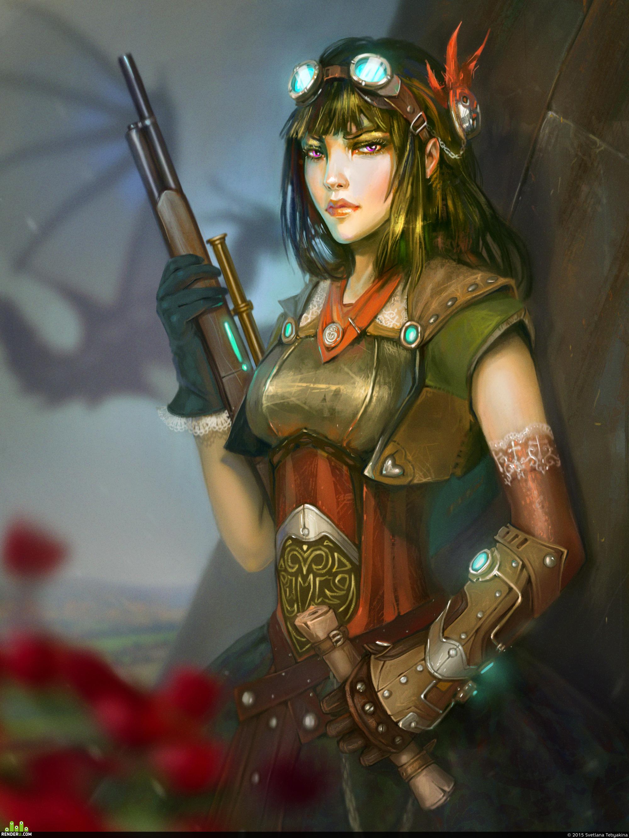 preview Steampunk Warrior