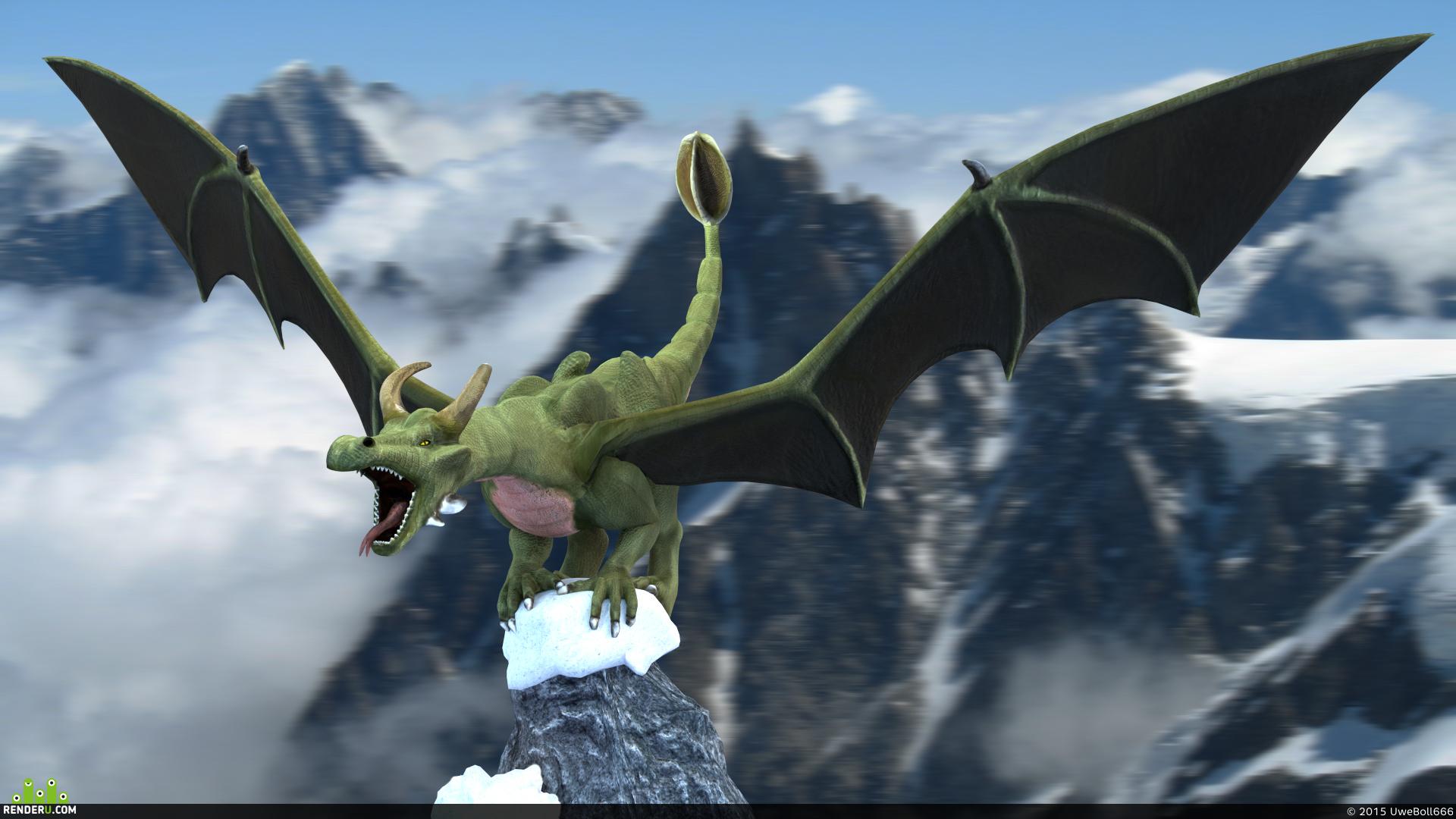 preview Европейский дракон