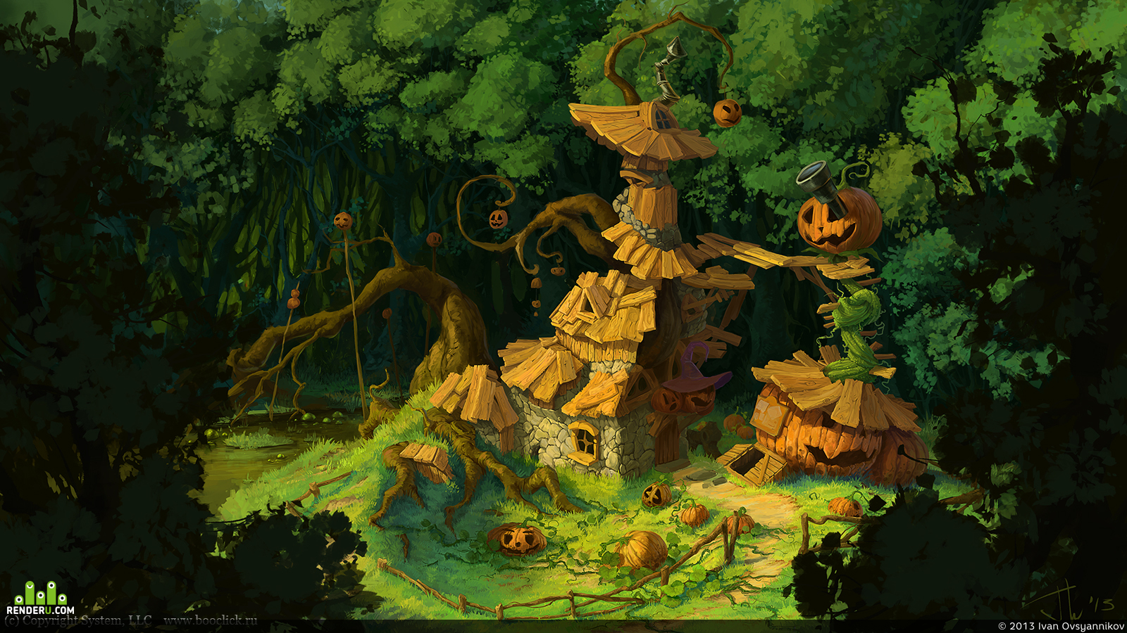 preview Хижина ведьмы