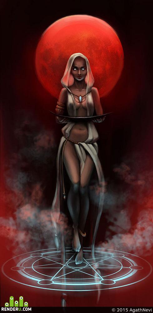 preview Жрица культа красной луны