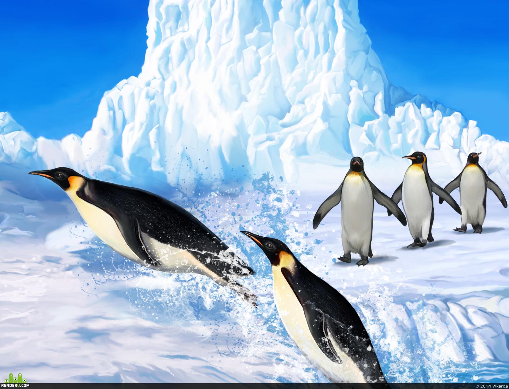 preview Прыгучие пингвины