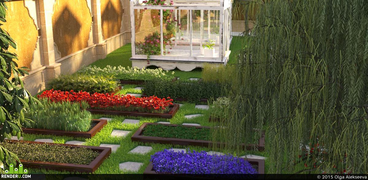 preview Декоративный огород