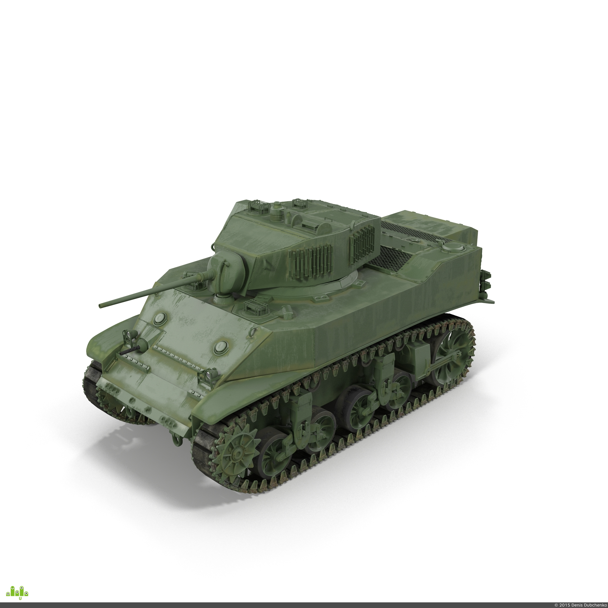 preview M5A1 Стюарт
