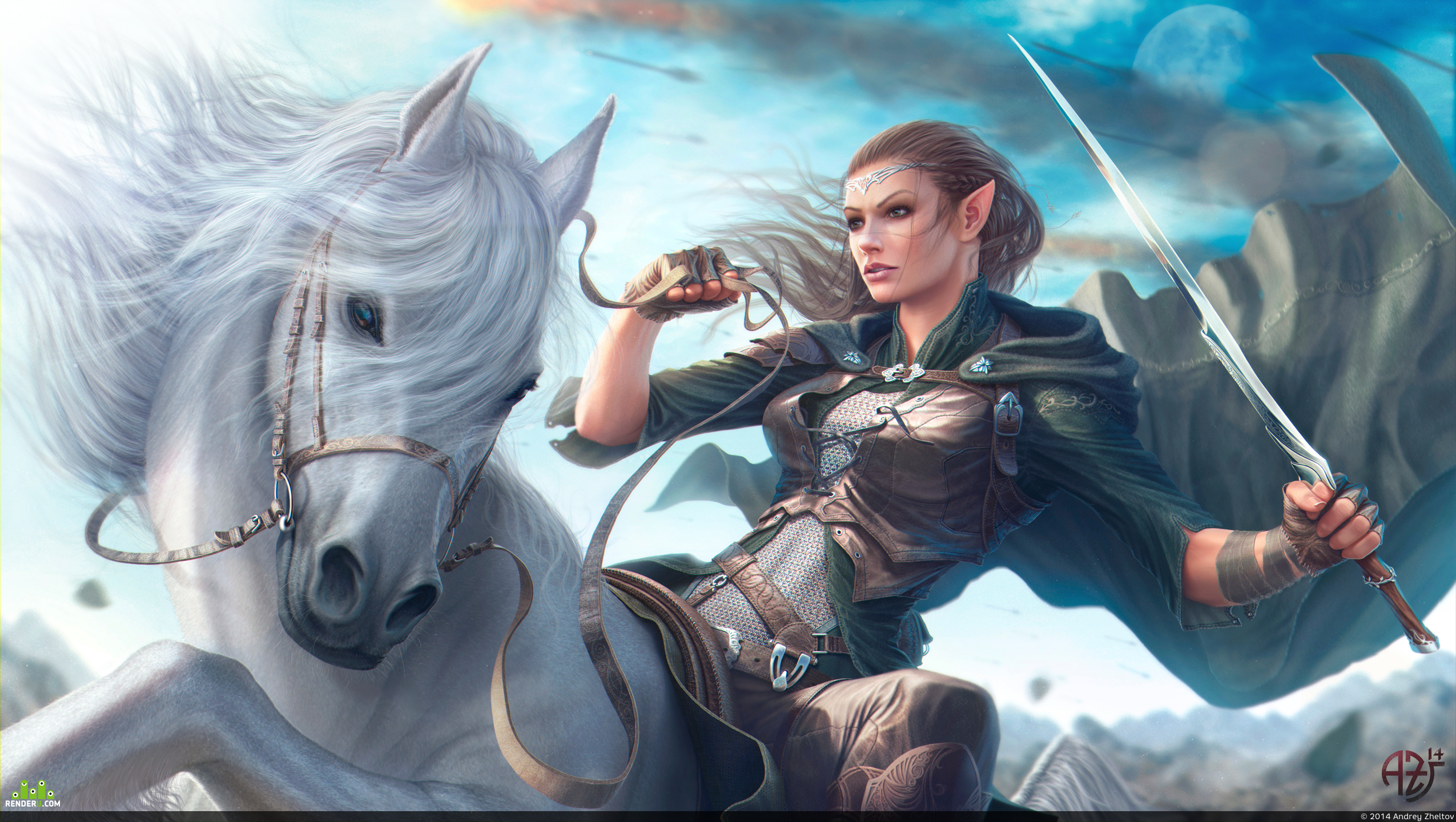 preview The legend of the unicorn