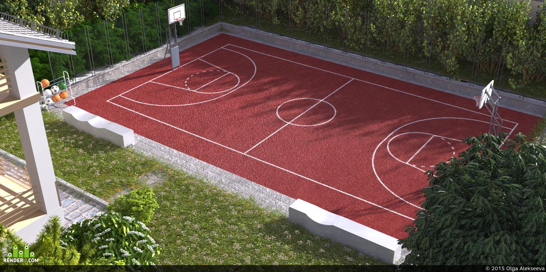 preview Спорт площадка