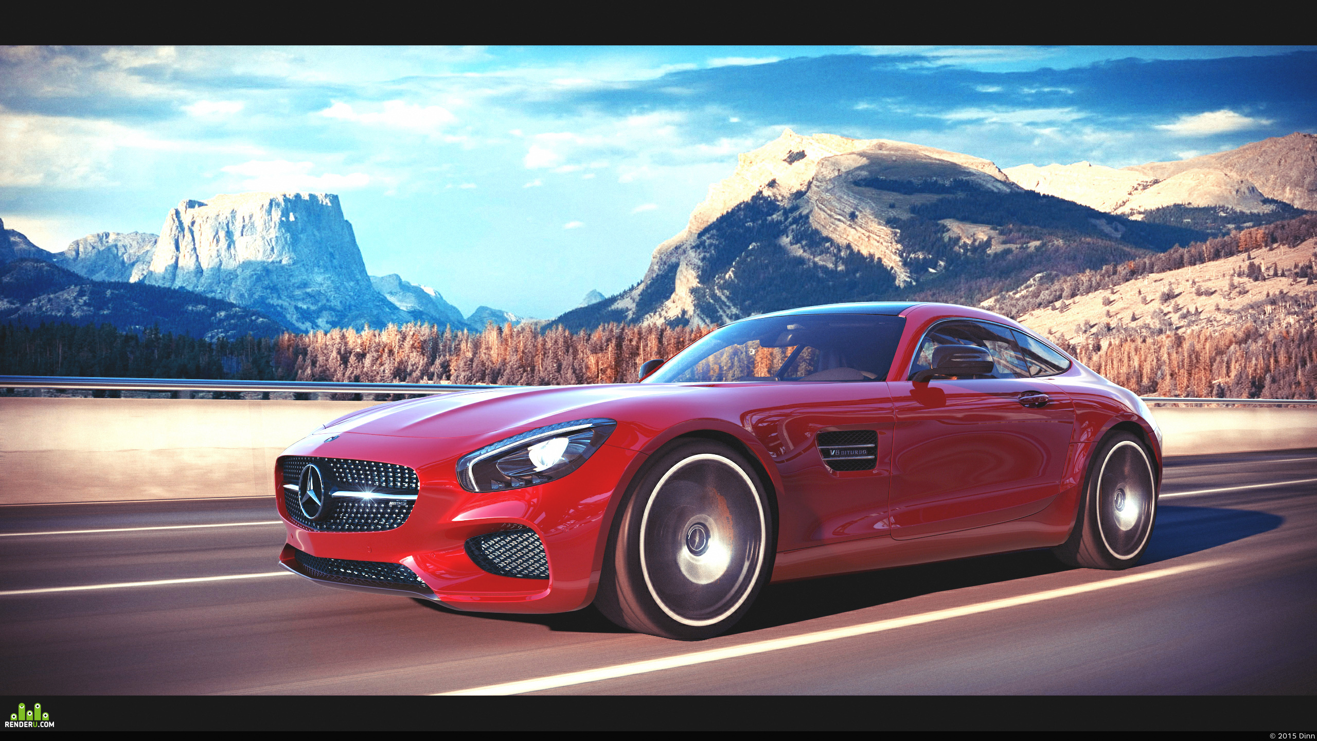 preview 2016 Mercedes-Benz GTS AMG
