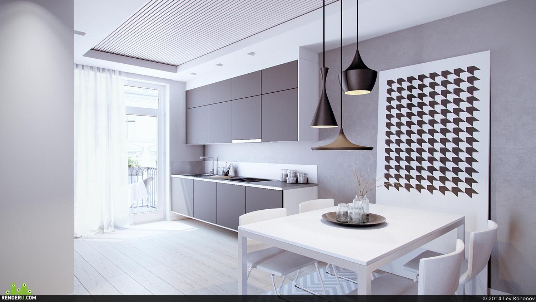 preview интерьер кухни