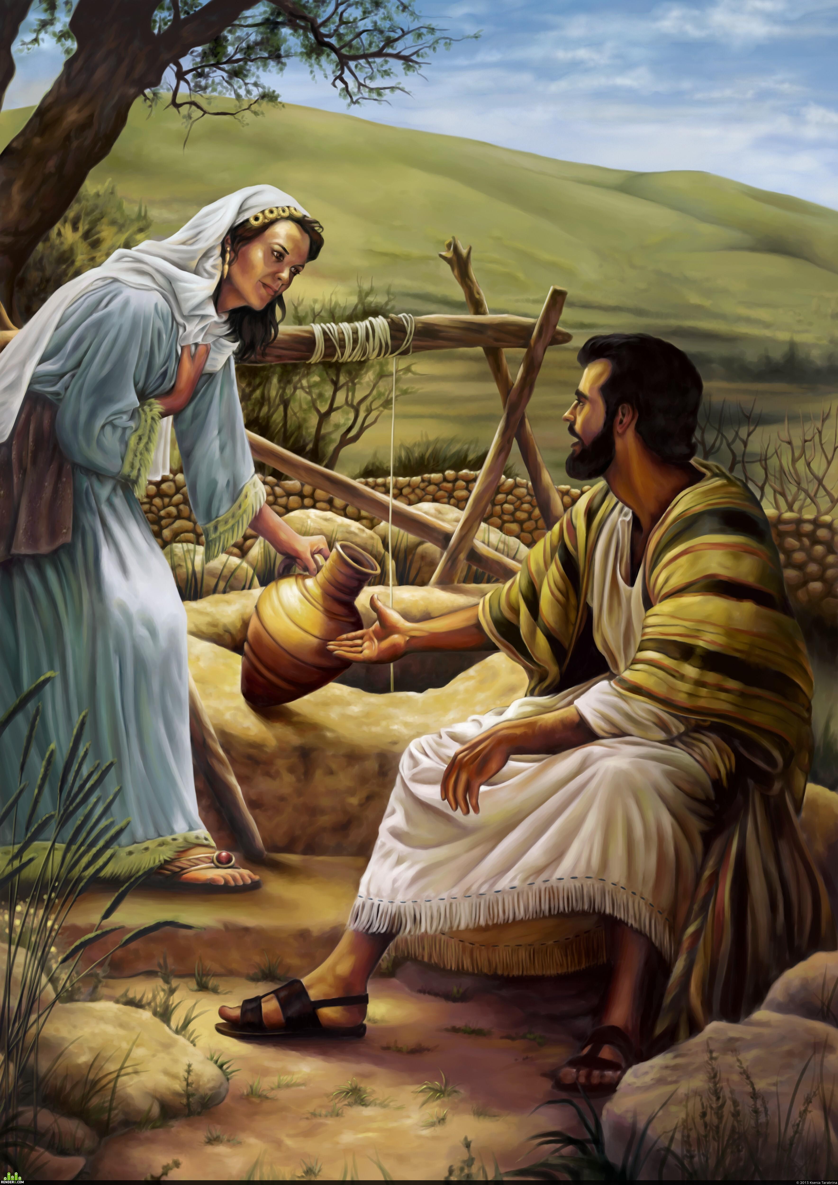preview Иисус Христос и самаритянка