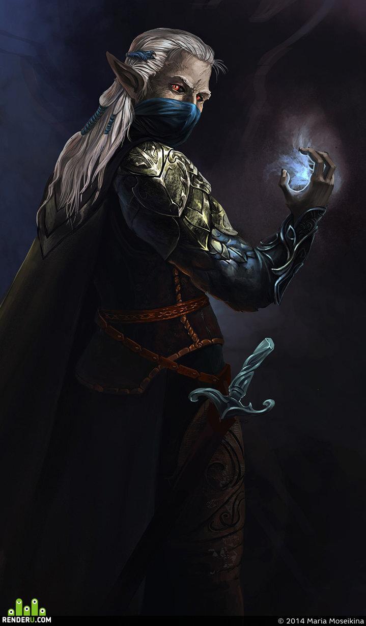 preview Темный эльф
