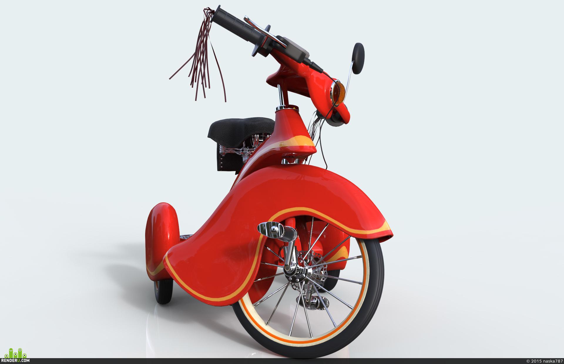 preview Спортивный трехколесный велосипед :-)