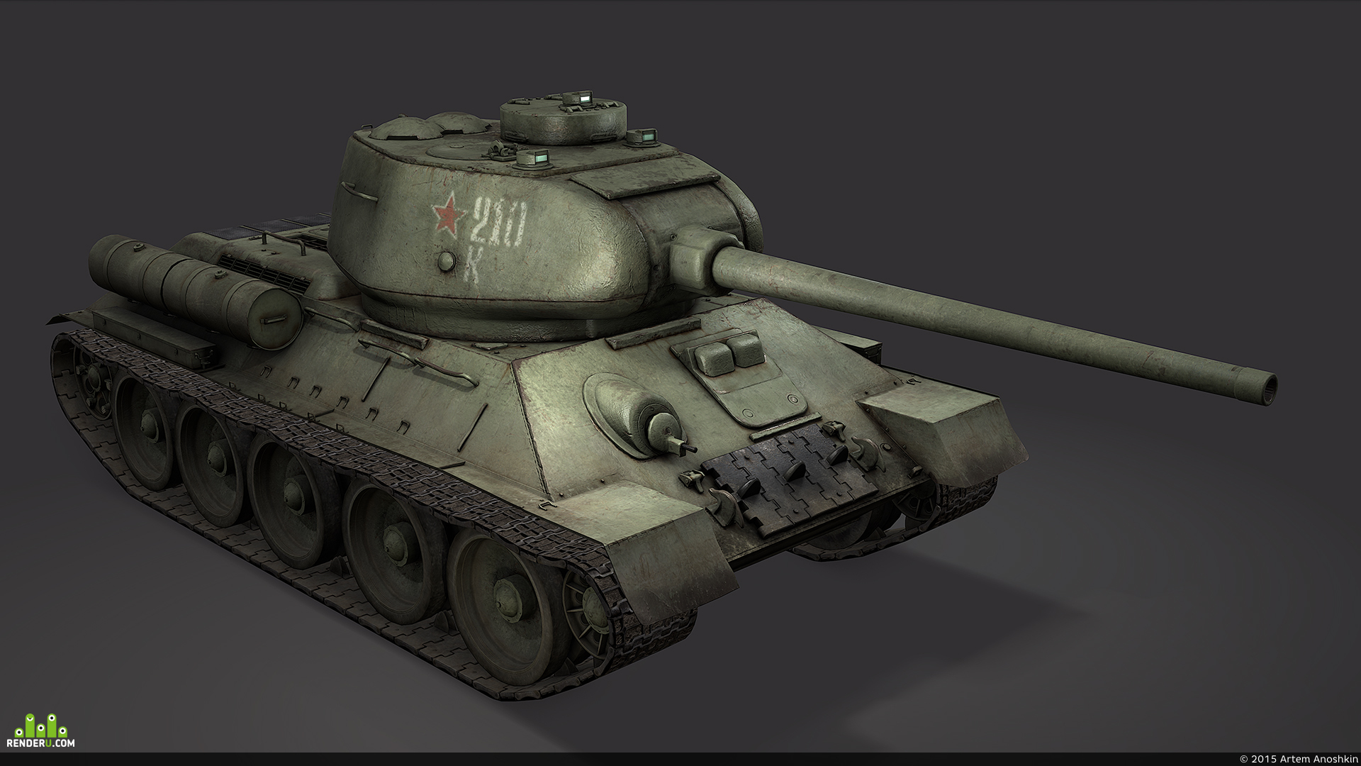 preview Т-34-85