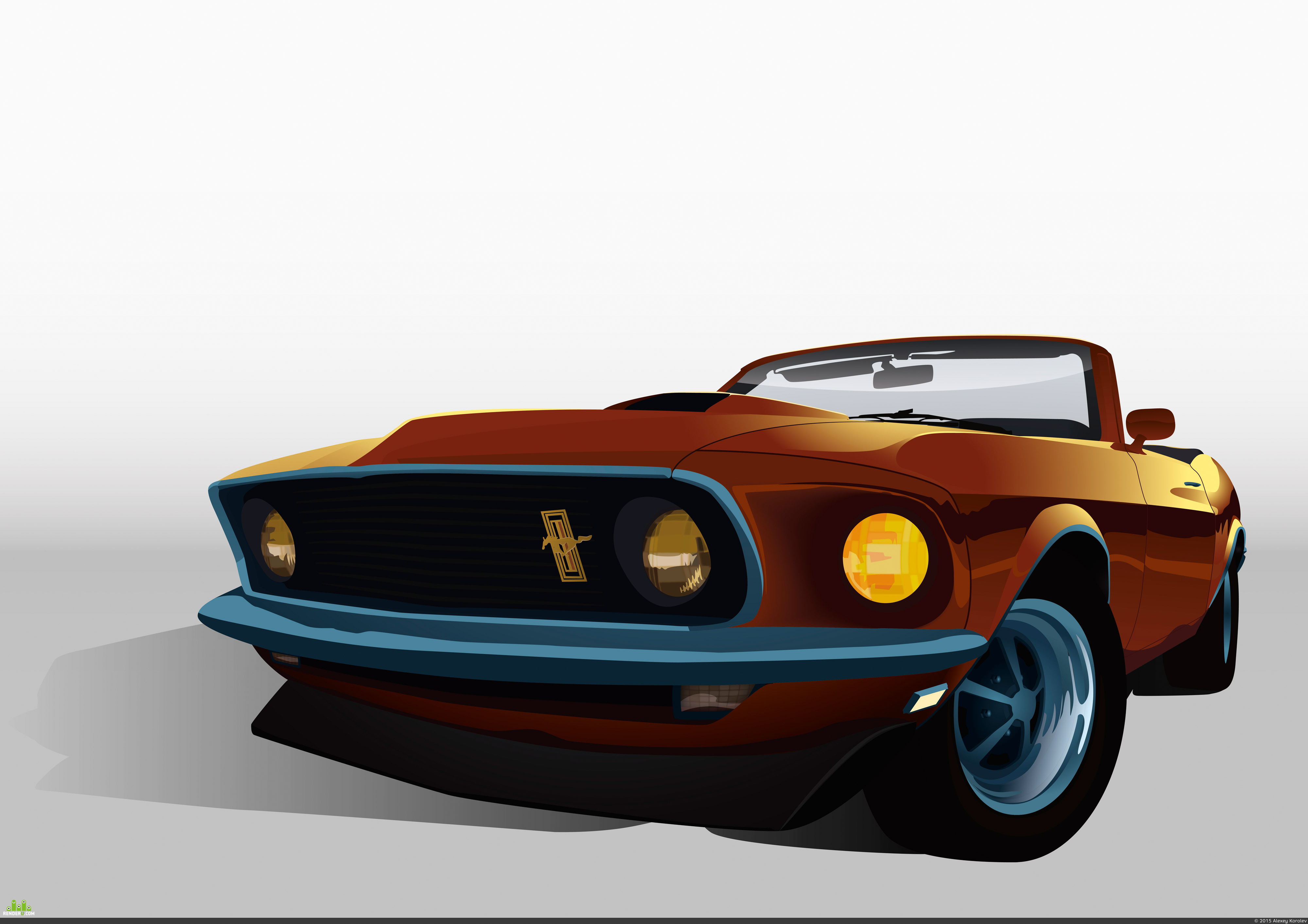 preview Ford Mustang 1969