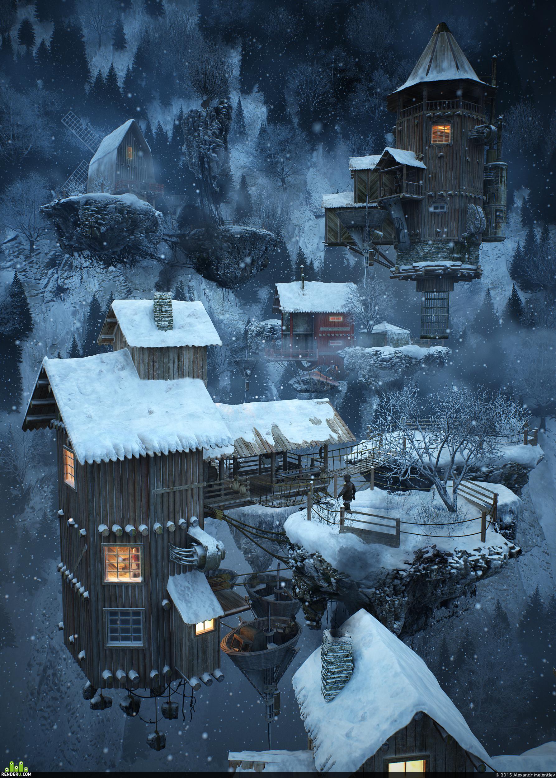 preview Охотничья деревня