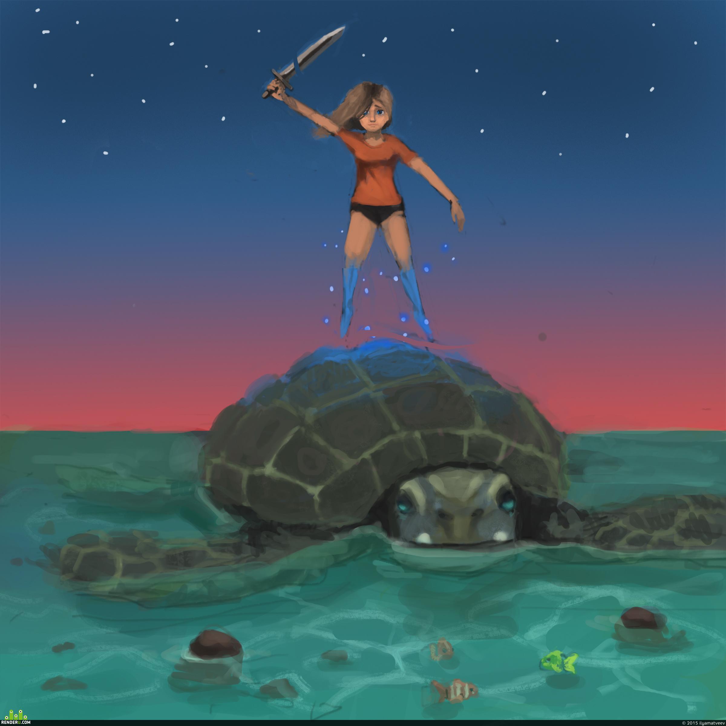 preview черепаха