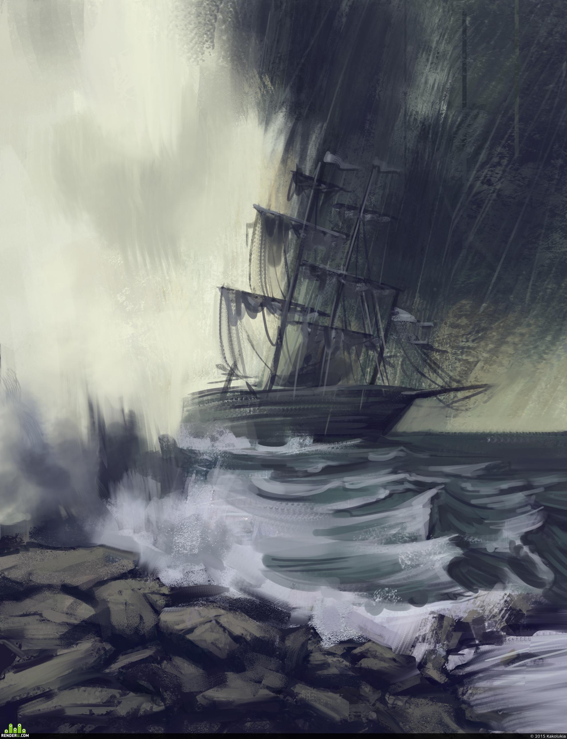 preview Морской шторм