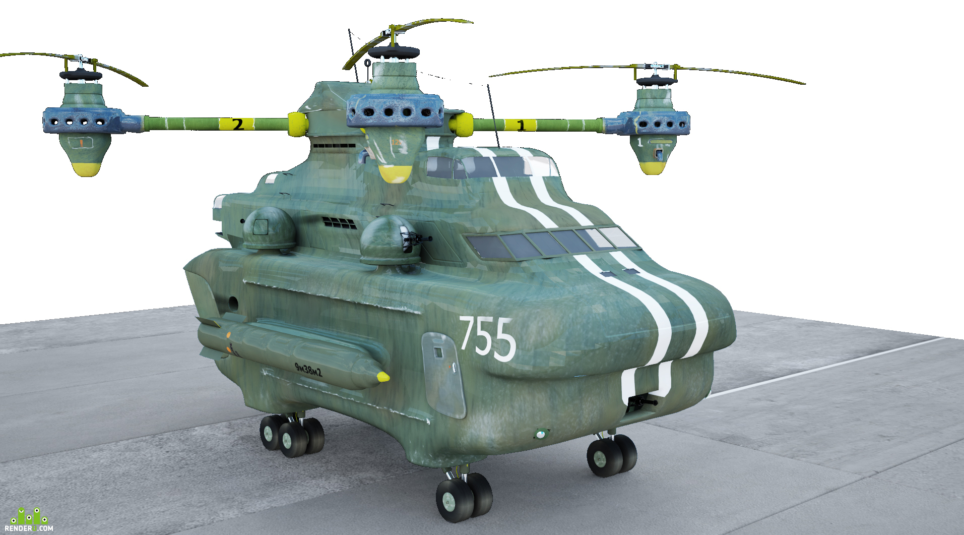 preview Транспортно-боевой квадрокоптер