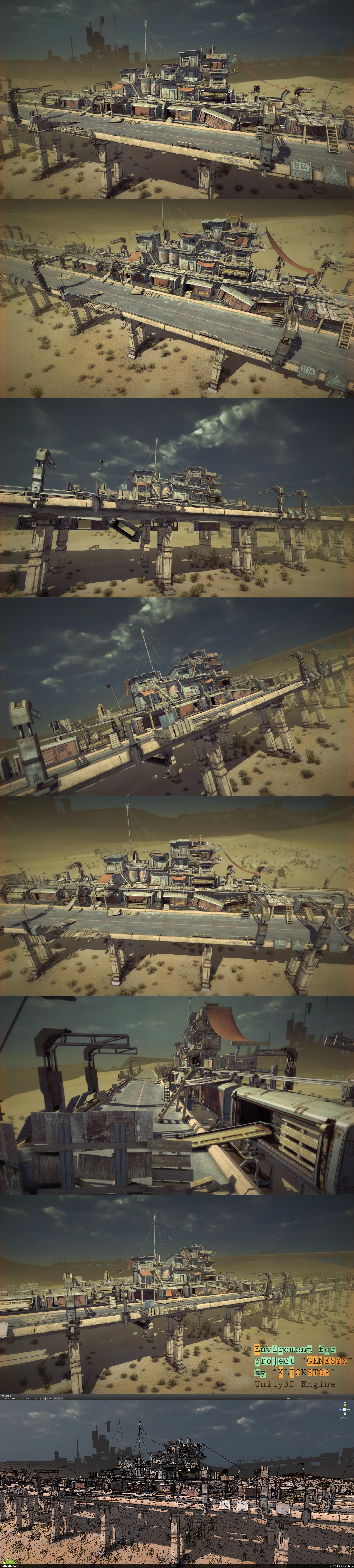 preview Bridge In Desert