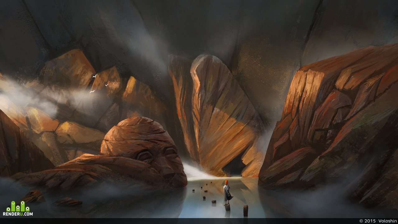 preview Misty Mountains
