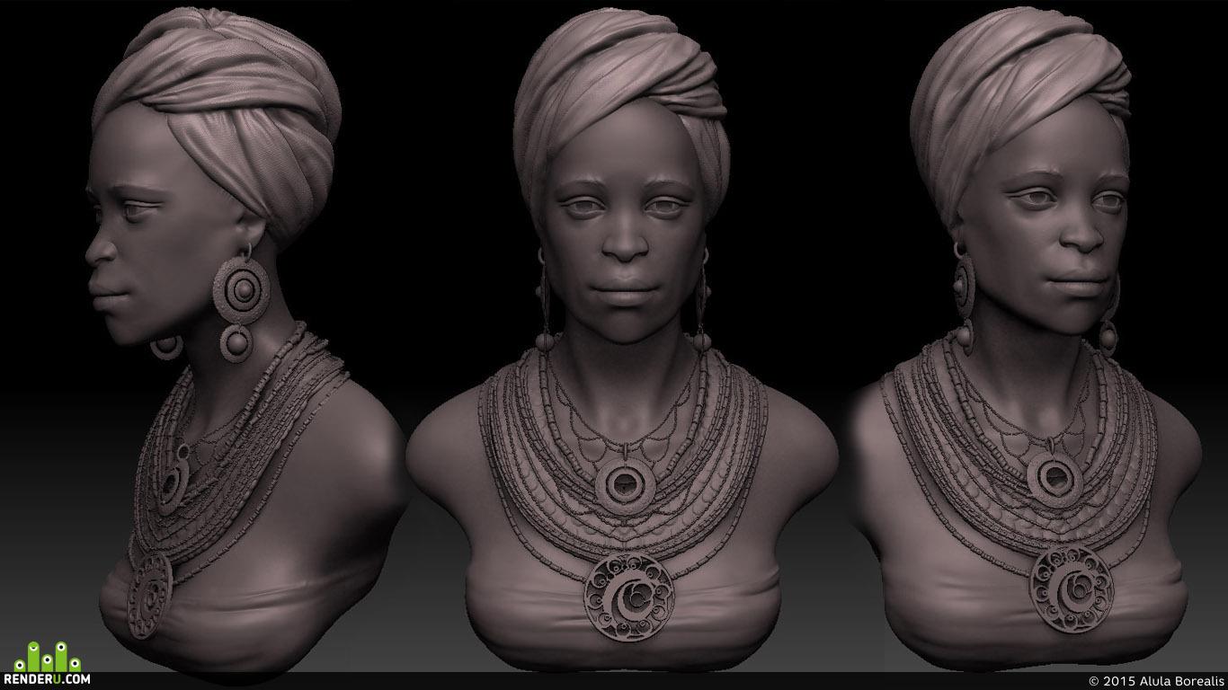 preview африканка
