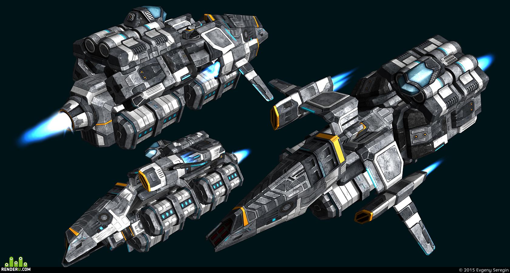 preview Конструктор космических кораблей. Грузовая тема.