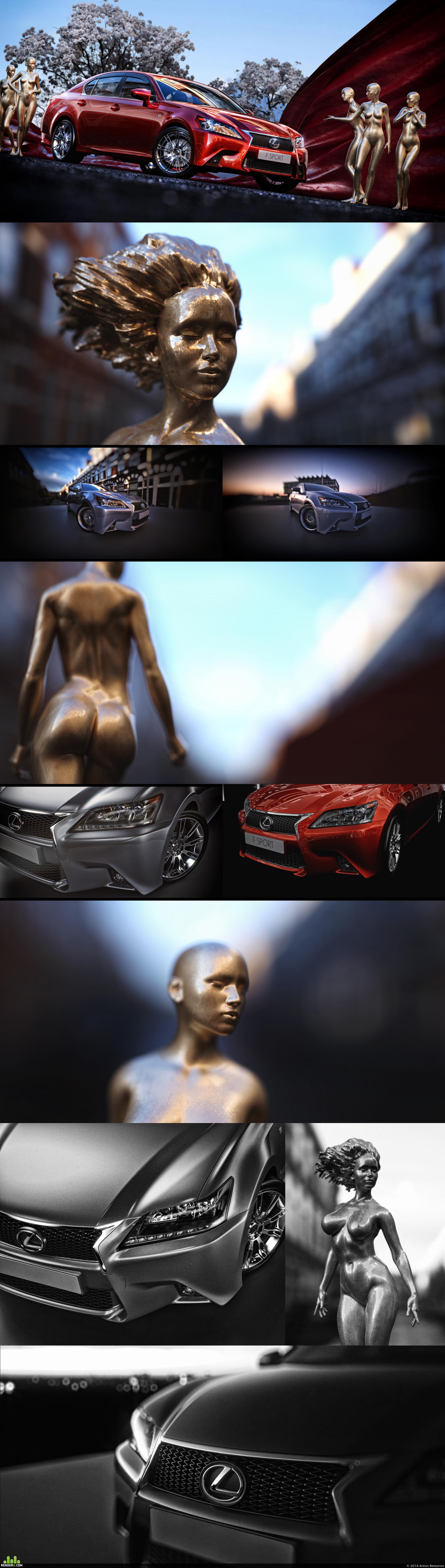 preview Lexus F sport (неизданное)