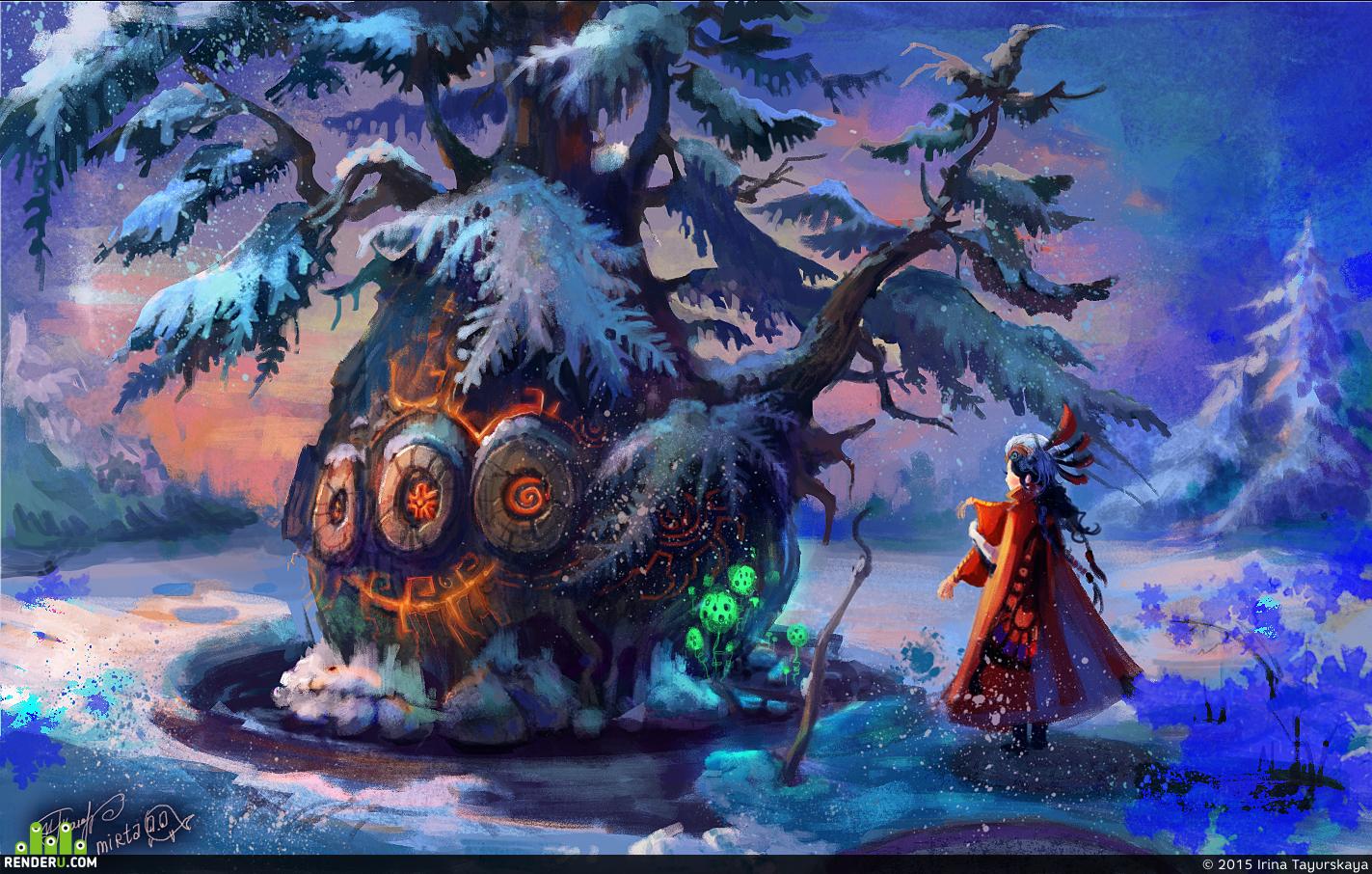 """preview """"Волшебное дерево"""""""