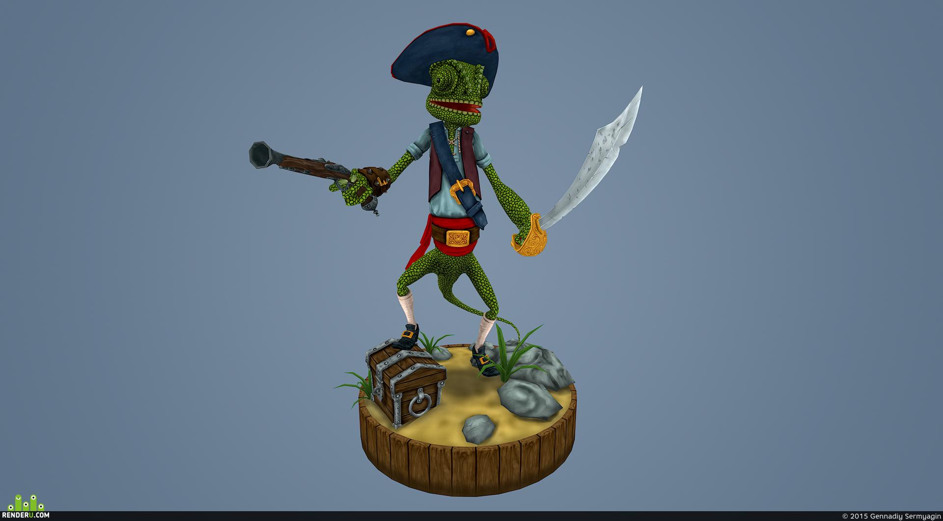 preview Captain Chameleon
