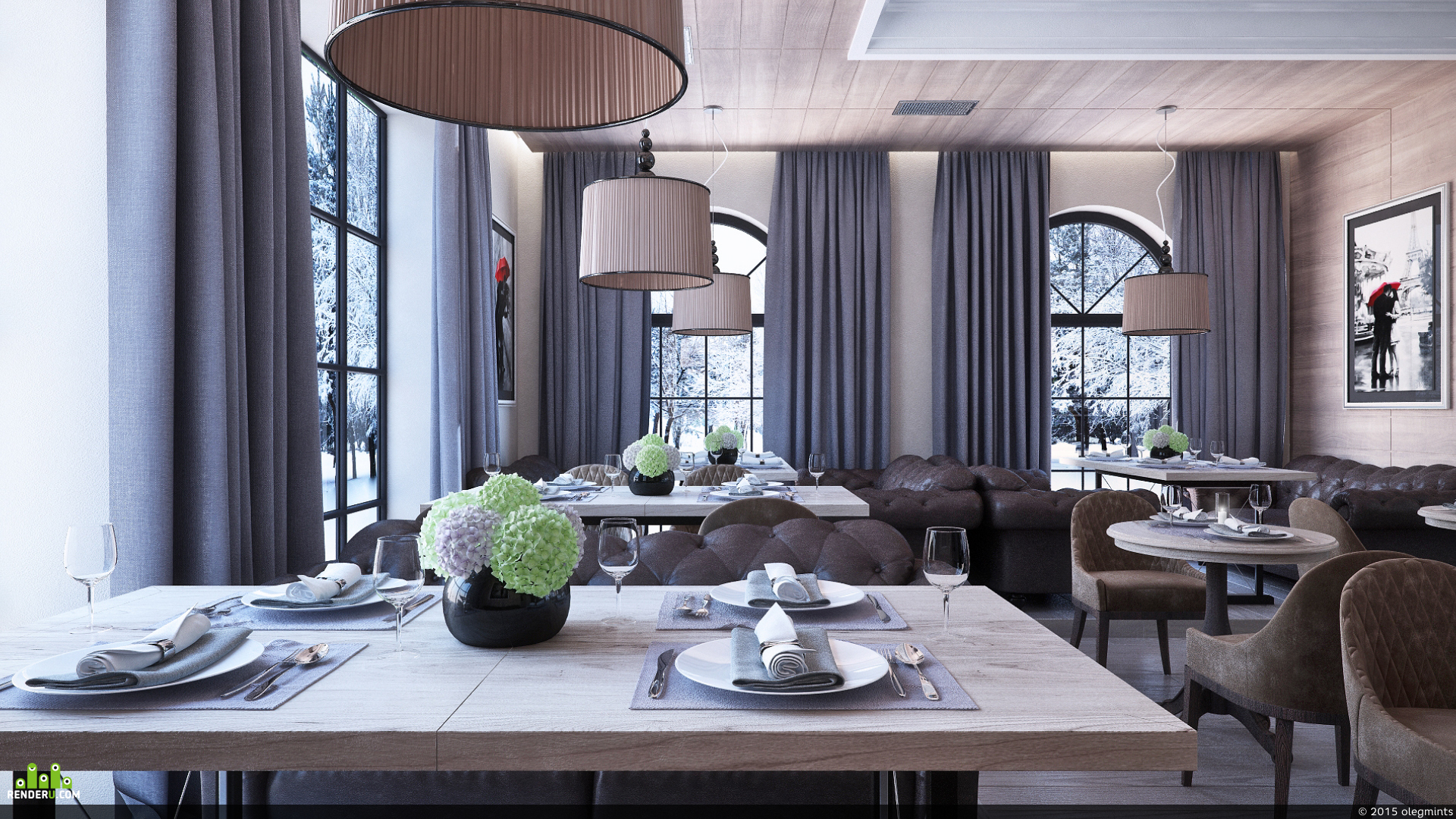 preview Cafe design in Saint-Petersburg