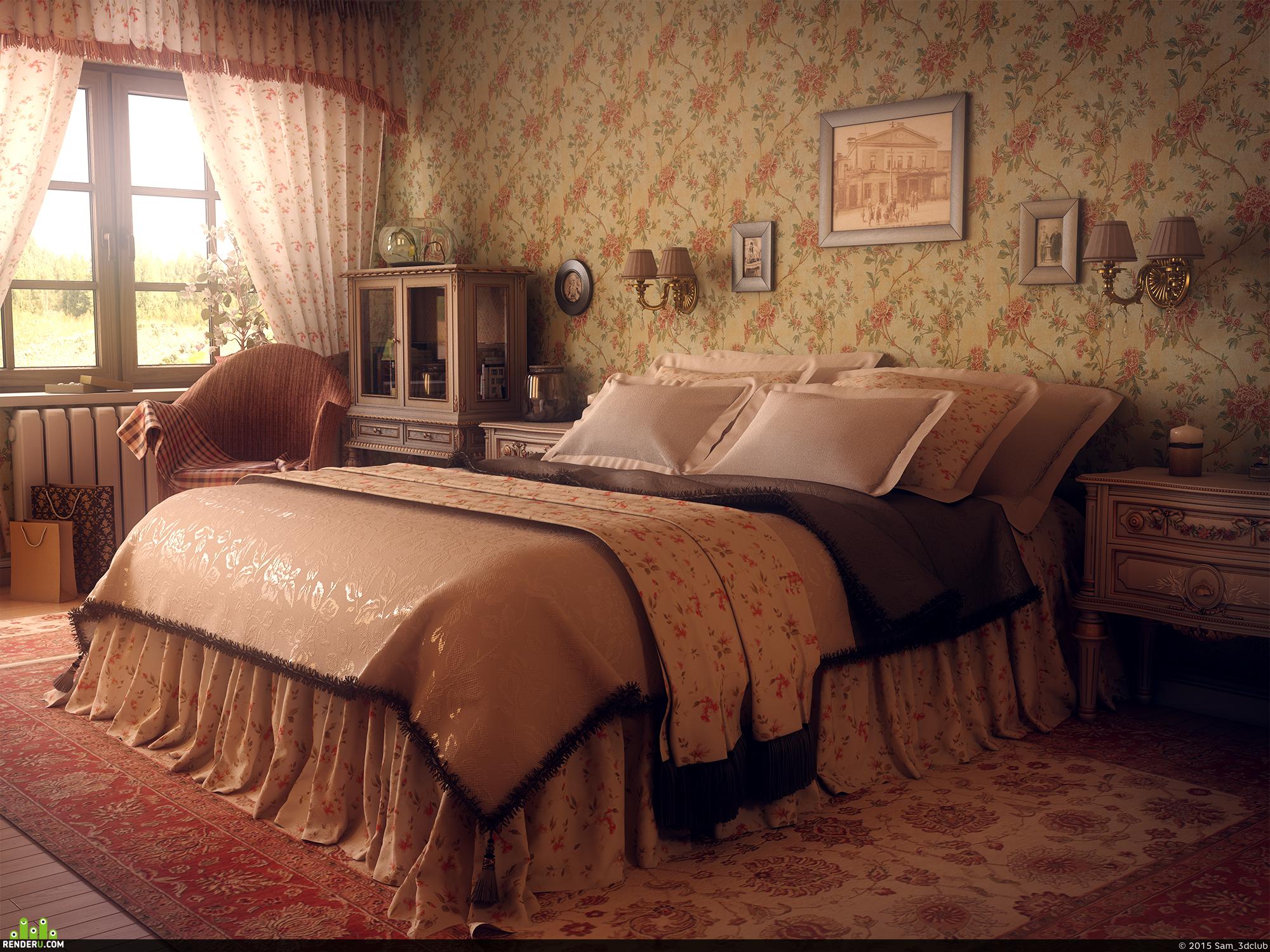 preview Спальня бабушки