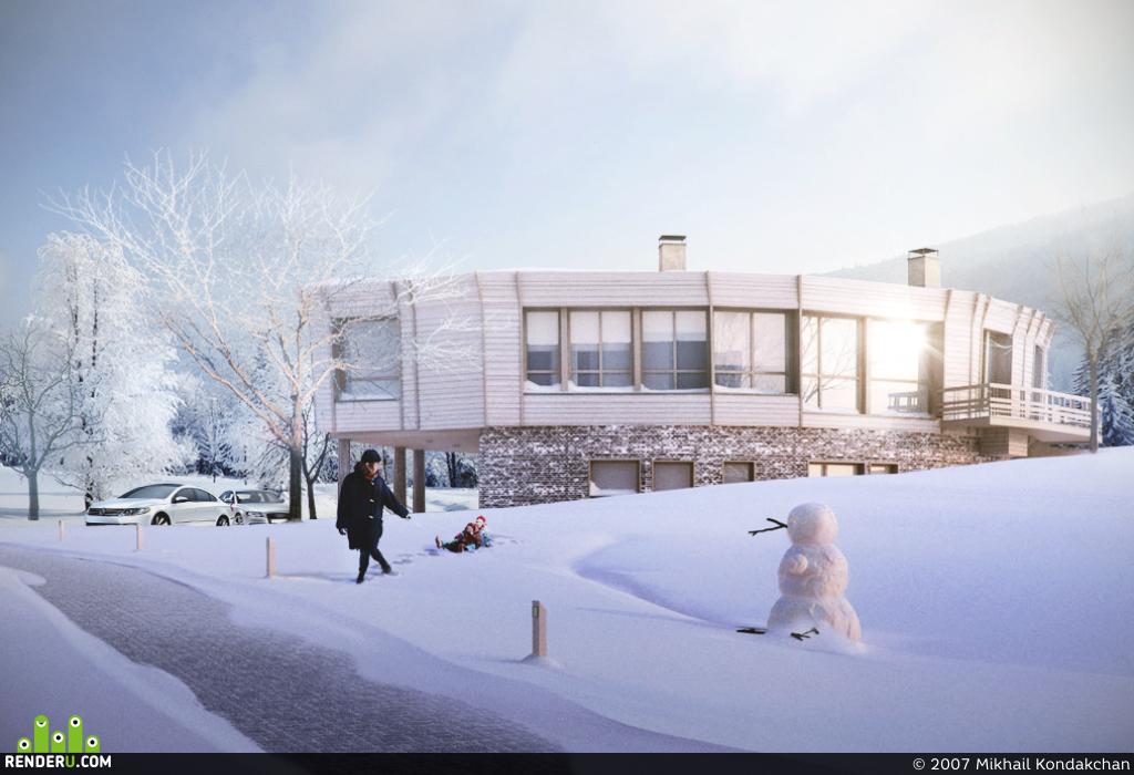 preview Зима, проект N.