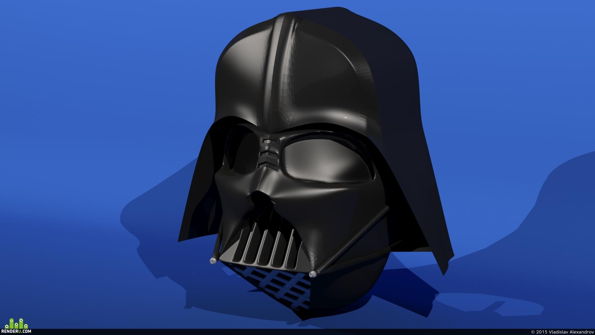 """preview шлем: """"Темный лорд"""""""