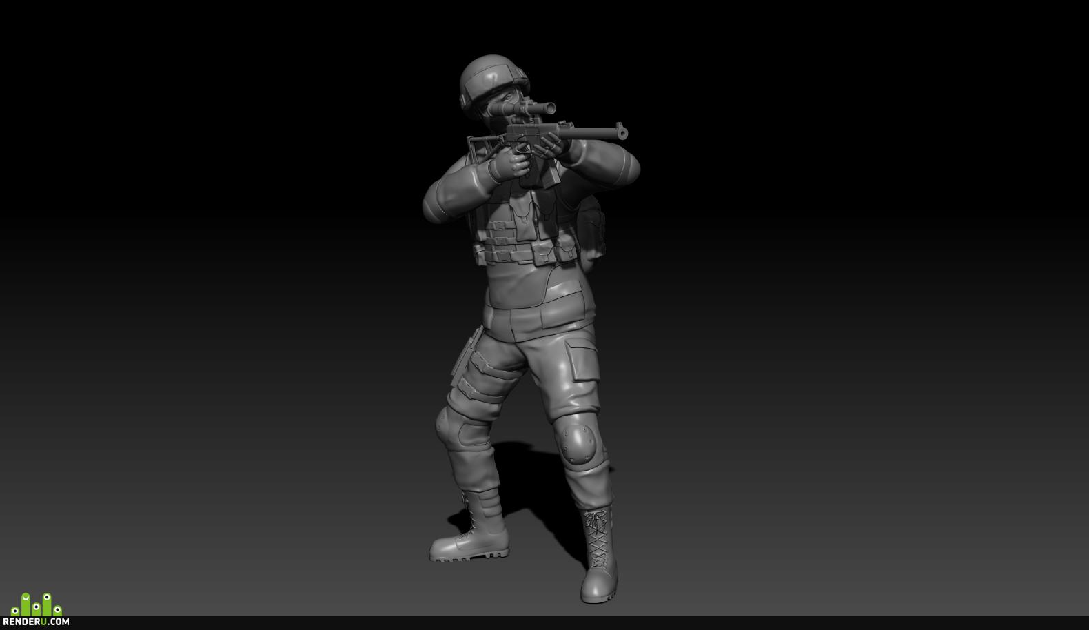 preview Спецназовец