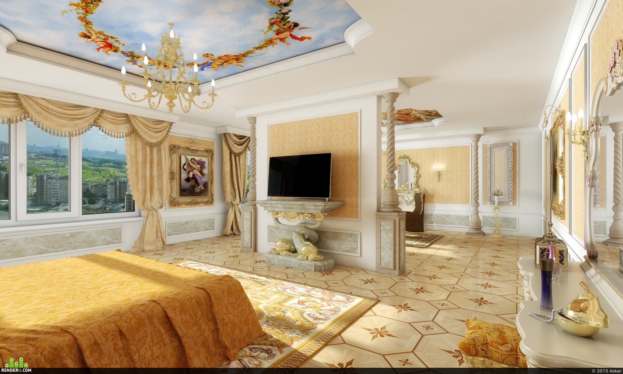 preview Спальня(ренесанский стиль)