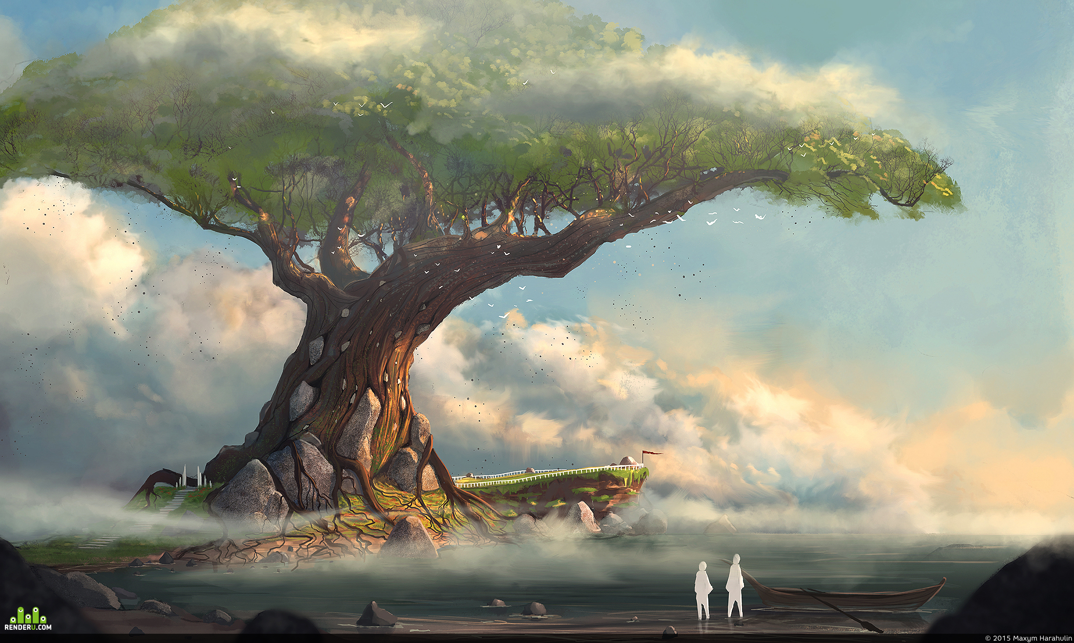 preview Древнее дерево
