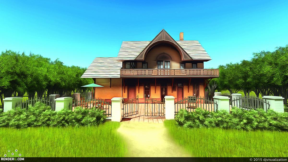 preview Дом в лесу