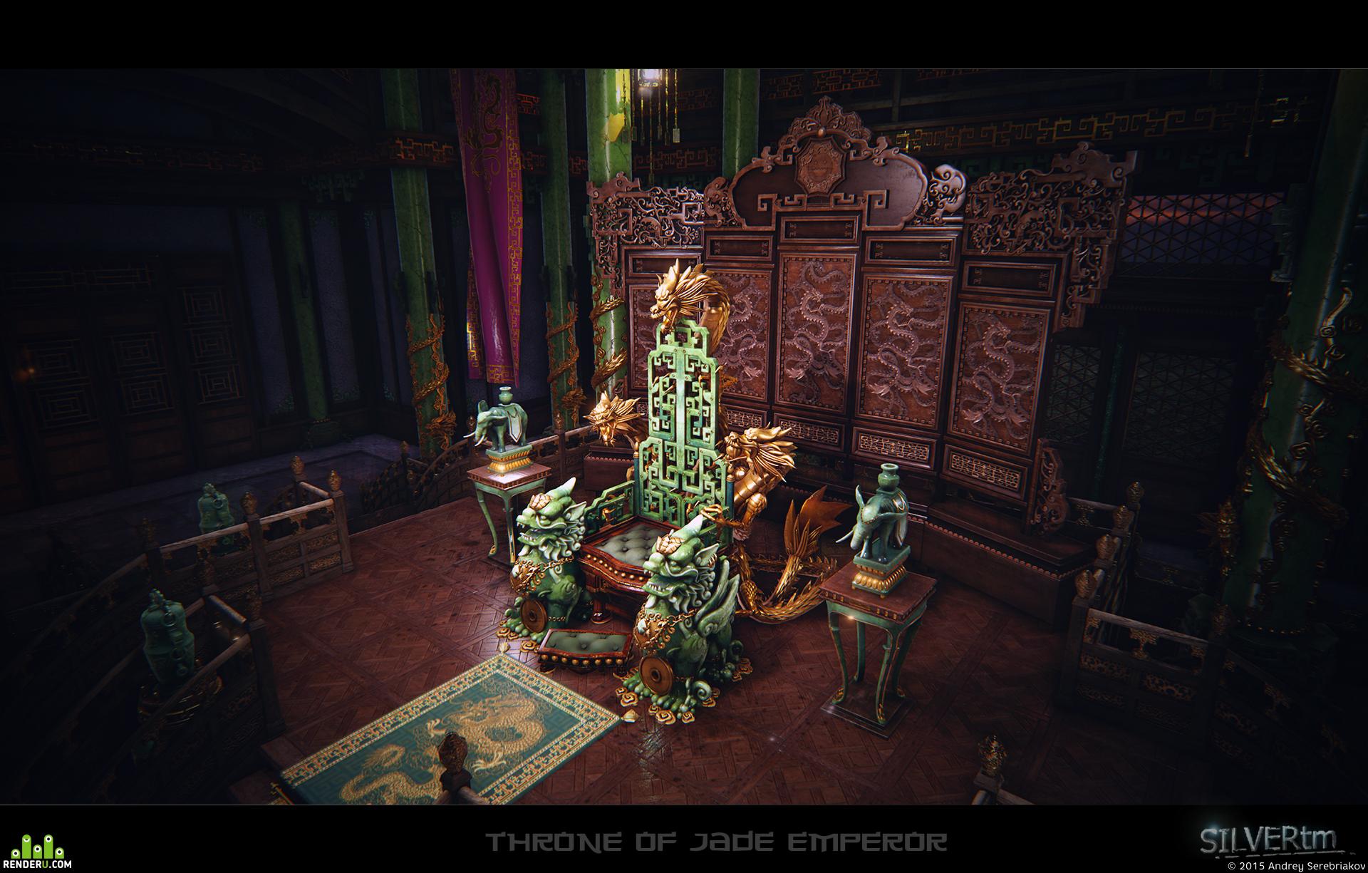 preview Throne of Jade Emperor (UE4)
