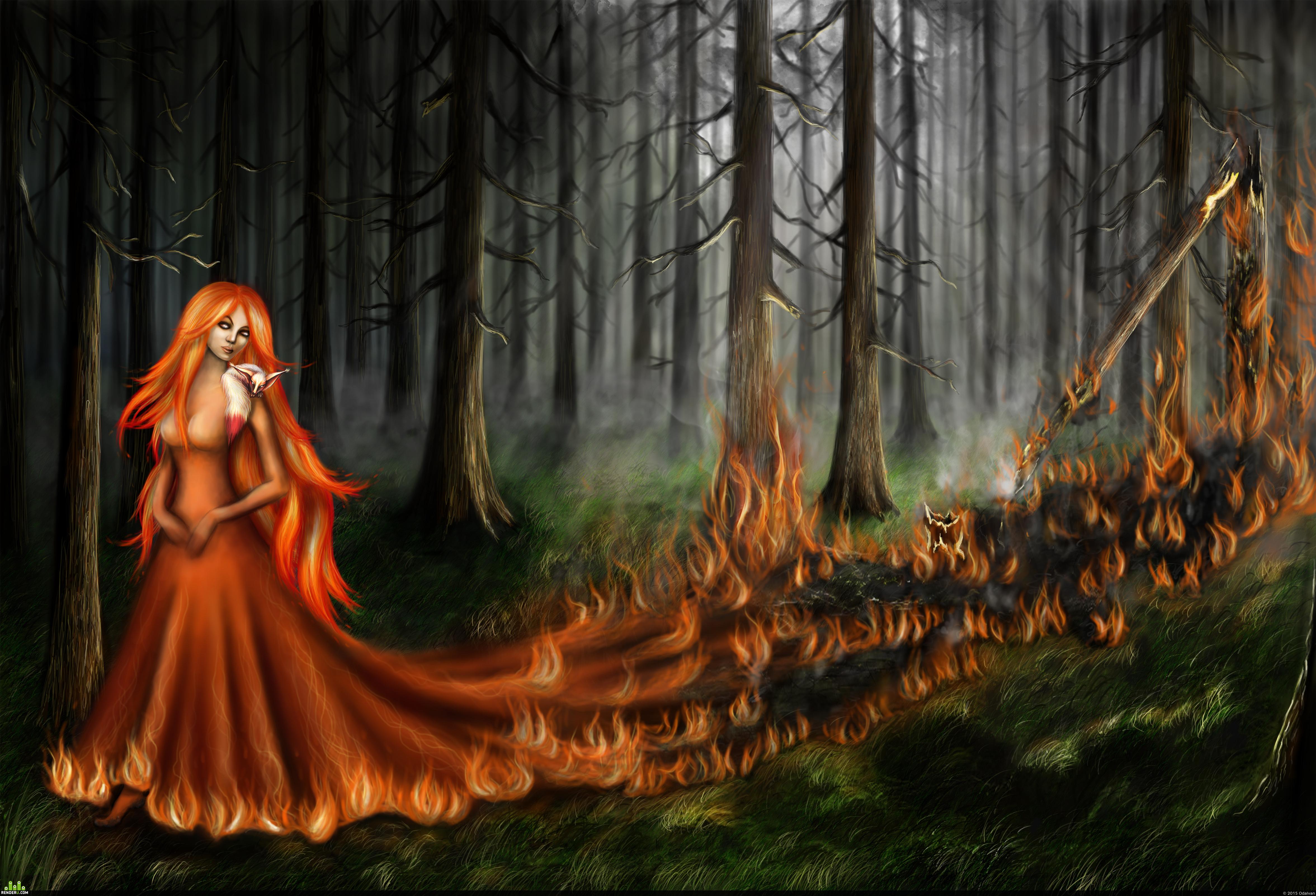 preview Пожар в лесу