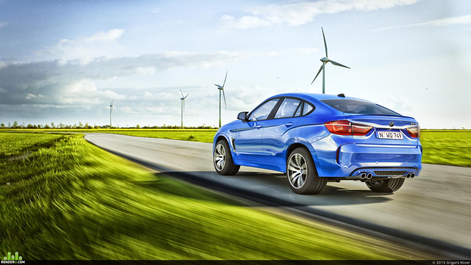 preview BMW X6 M