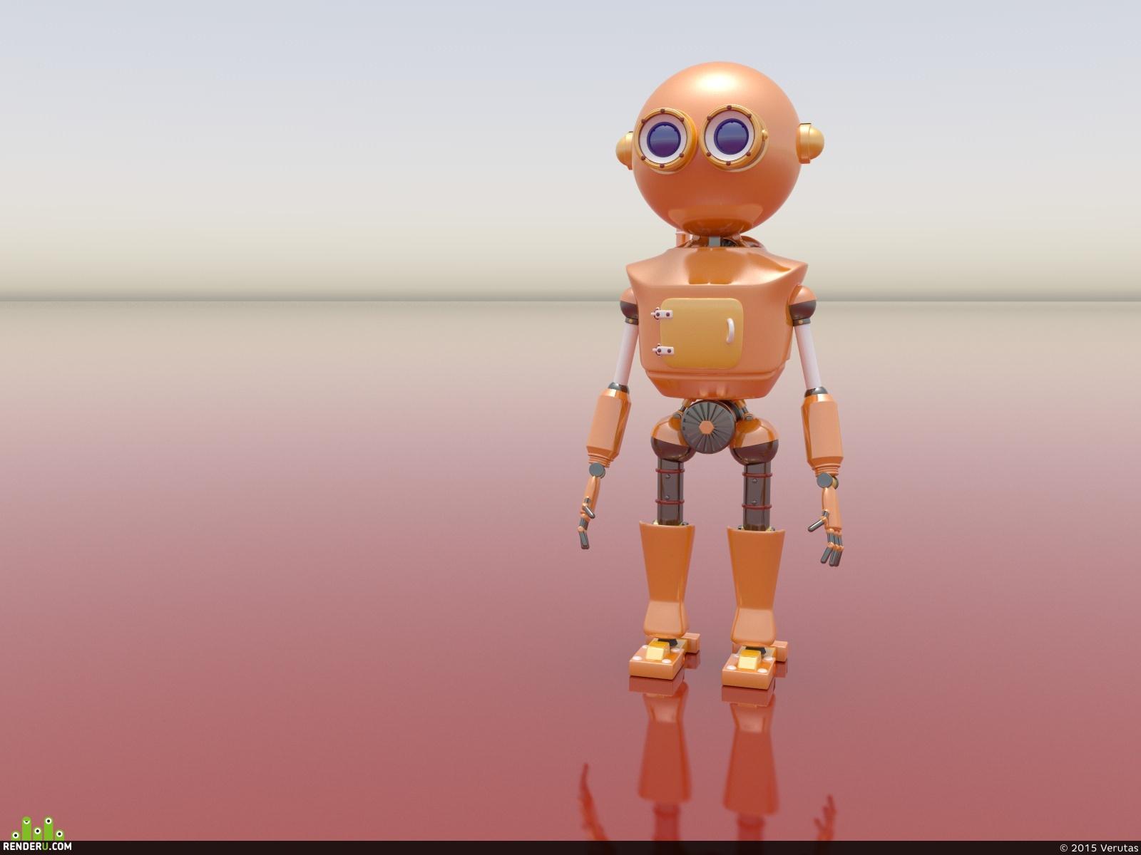 preview Милый робот