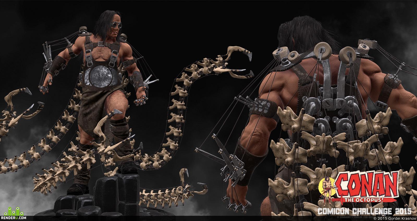 preview Conan the Octopus