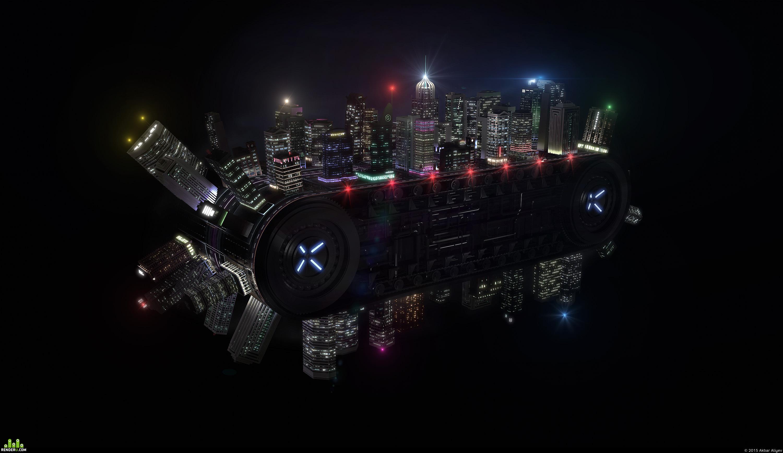 preview Анимационный город