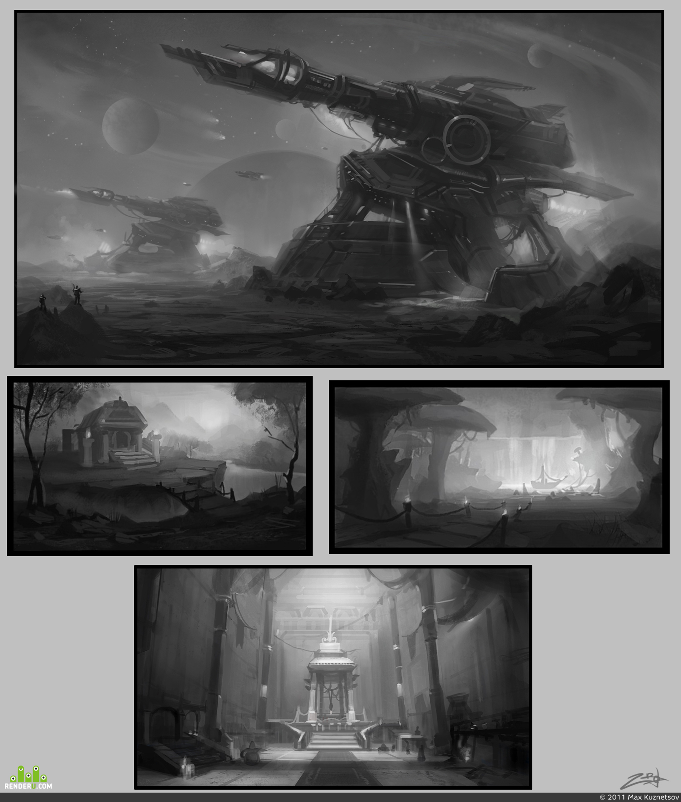preview B&W Sketches